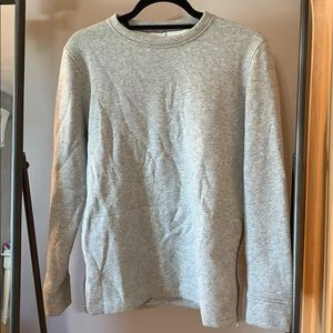Grey lululemon pullover sweatshirt